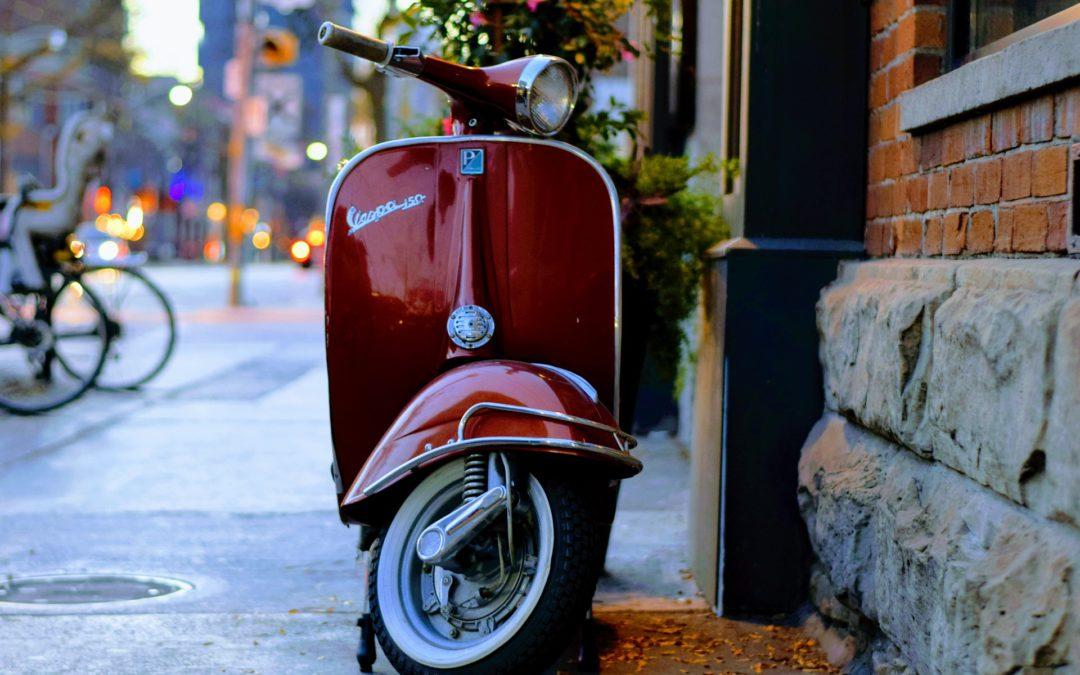 Uw scooter verzekeren tegen diefstal en brand